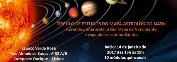 Círculo de Estudos do Mapa Astrológico Natal