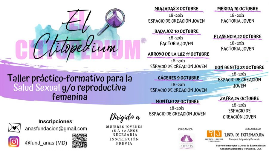 Talleres EXPO CLITOPEDIUM | Arroyo de la Luz