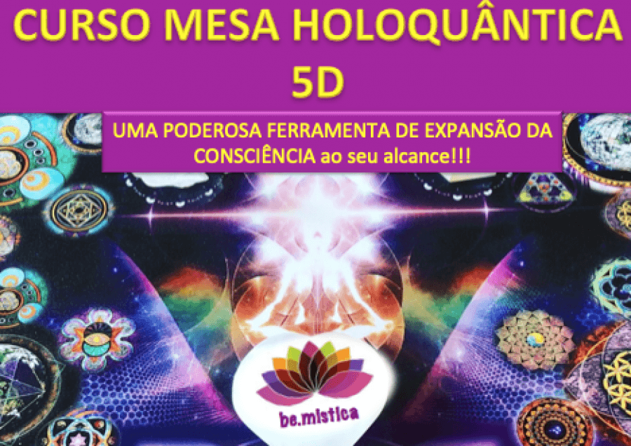 CURSO MESA RADIÓNICA HOLOQUANTICA 5D