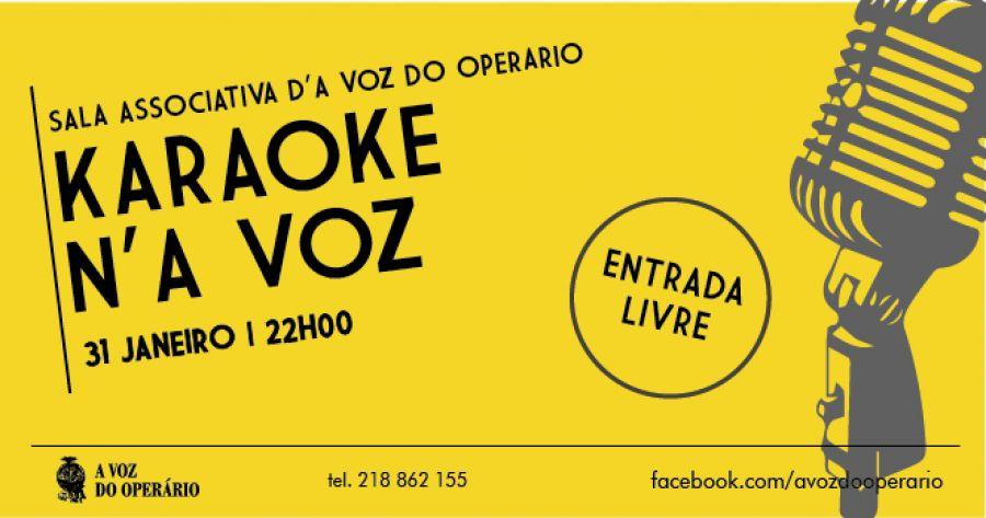 Karaoke n'A Voz