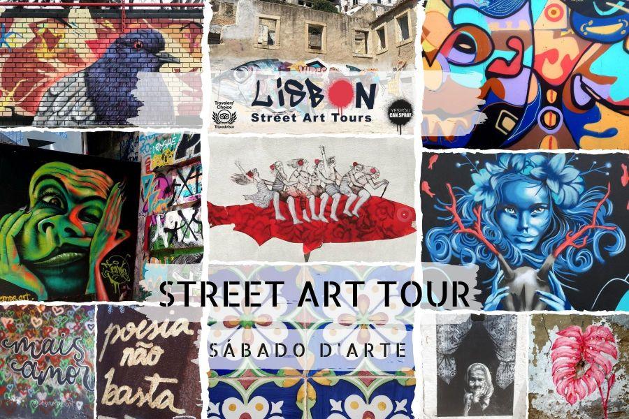 SÁBADO d'ARTE | A PRIMEIRA VISITA DE ARTE URBANA