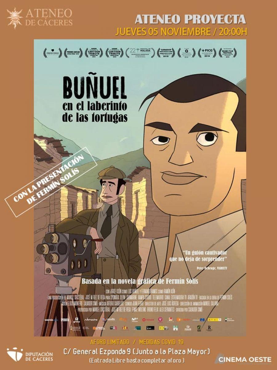 Ateneo Proyecta 'Buñuel en el laberinto de las tortugas'