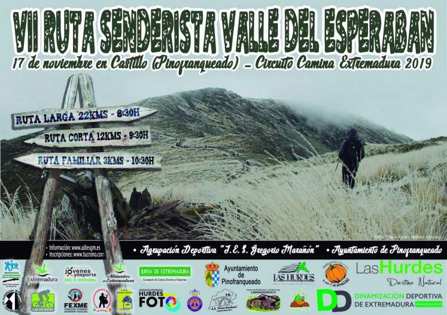 "VII Ruta ""Valle del Esperabán"" 2019"
