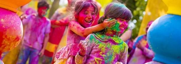 Holi. Festival de colores de India