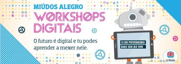Workshops Digitais Infantis