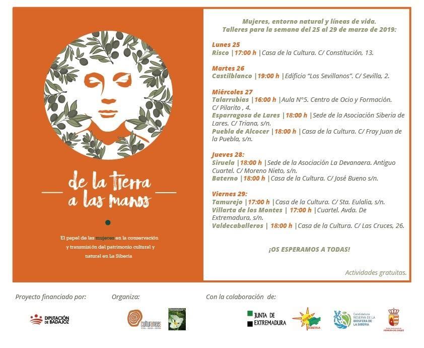 DE LA TIERRA A LAS MANOS - Mujeres, entorno natural y líneas de vida | Siruela
