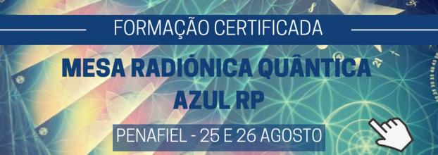 Mesa Radiónica Quântica Azul RP - Formação Certificada - PENAFIEL