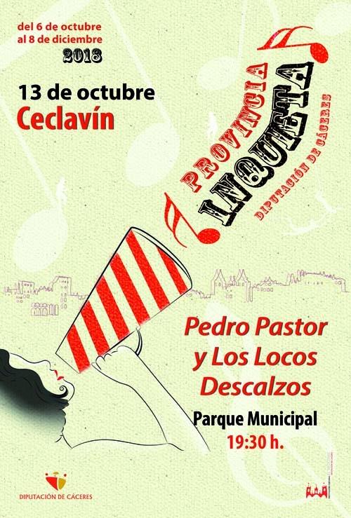 Provincia Inquieta   PEDRO PASTOR Y LOS LOCOS DESCALZOS
