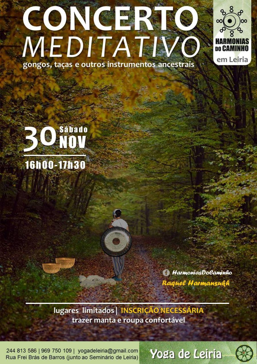 Concerto Meditativo 'Harmonias Do Caminho' (em Leiria)