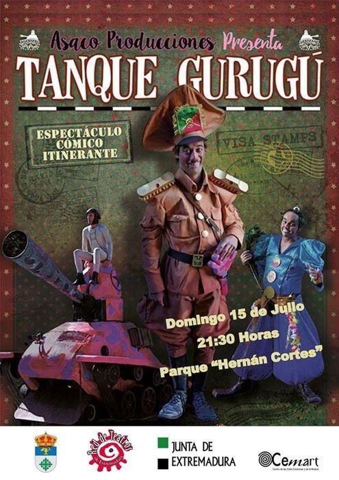 Espectáculo «Tanque Gurugú»