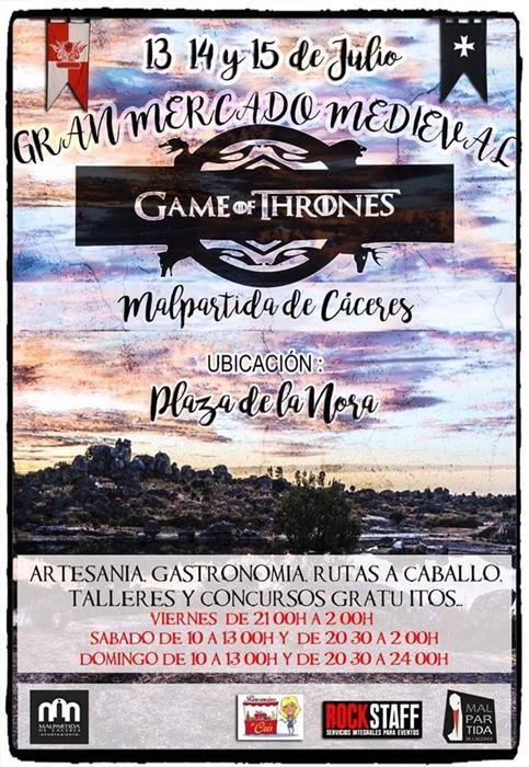Gran Mercado Medieval Game of Thrones