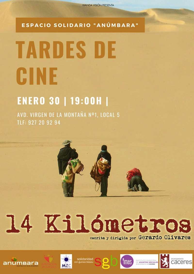 Tardes de Cine. Película '14 Kilómetros'