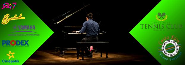 Costa Rica Piano Festival. Jóvenes talentos nacionales e internacionales