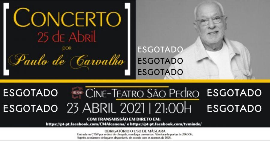 Concerto Paulo de Carvalho