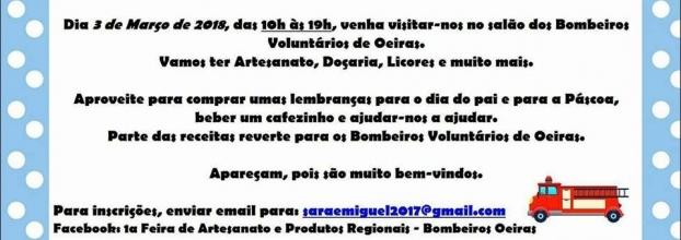 Feira nos Bombeiros Voluntários de Oeiras