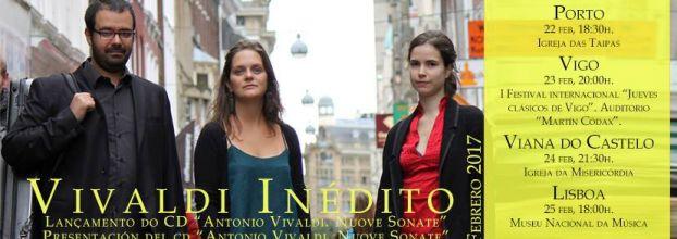 Inédito Vivaldi - Scaramuccia Ensemble lançamento do CD 'Antonio Vivaldi - Nuove Sonate'