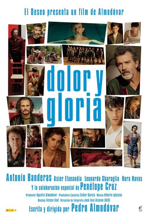 Festival de cine europeo 2019. Dolor y gloria. España