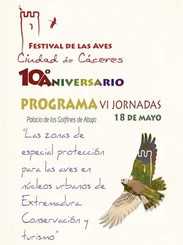 JORNADAS TÉCNICAS // Festival de las Aves de Cáceres
