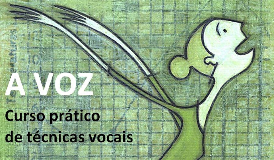 A VOZ - Curso prático de técnicas vocais (acreditado para professores)
