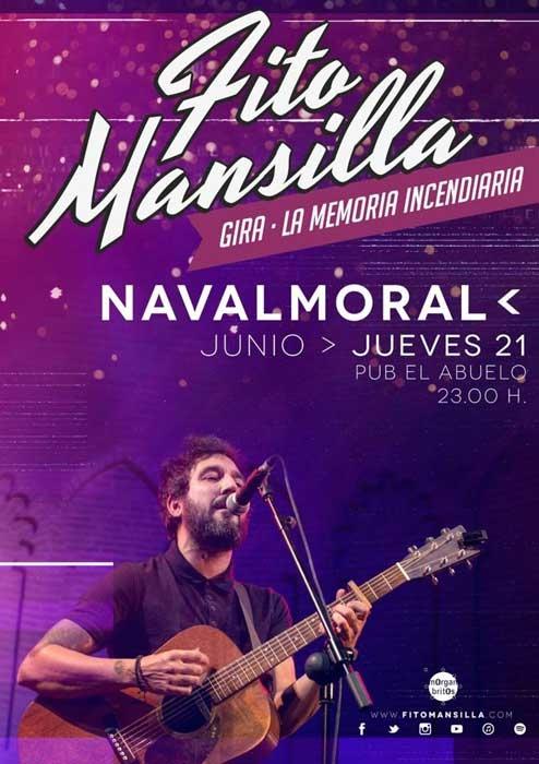 Concierto de Fito Mansilla en Navalmoral de la Mata