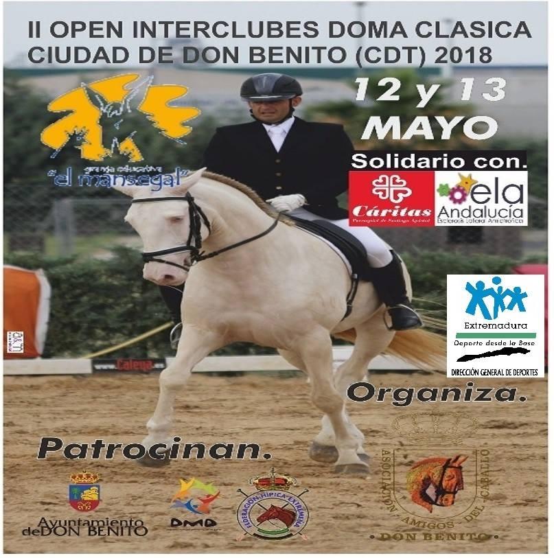 II OPEN INTERCLUBES DOMA CLASICA // DON BENITO