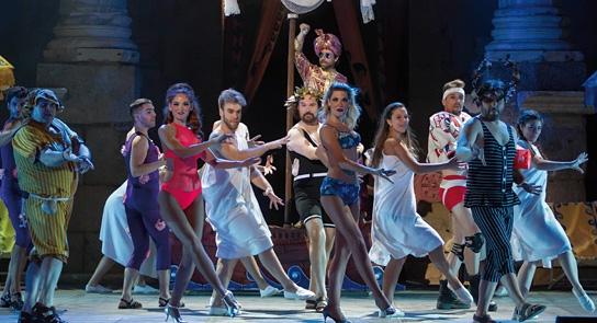 LA BELLA HELENA de Jacques Offenbach  //  Festival Internacional de Teatro Clásico de Mérida