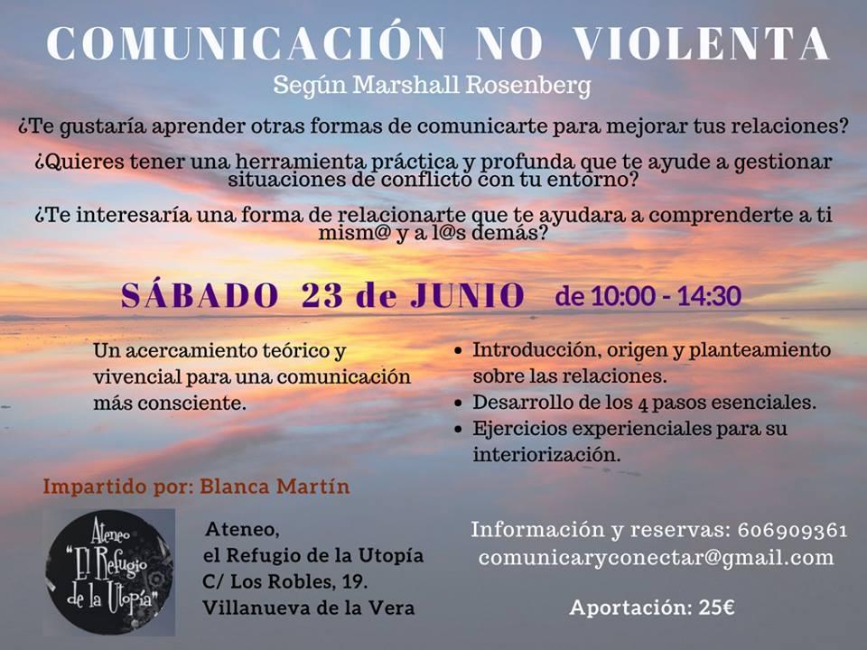 Taller «Comunicación no violenta» || Ateneo El Refugio de la Utopía