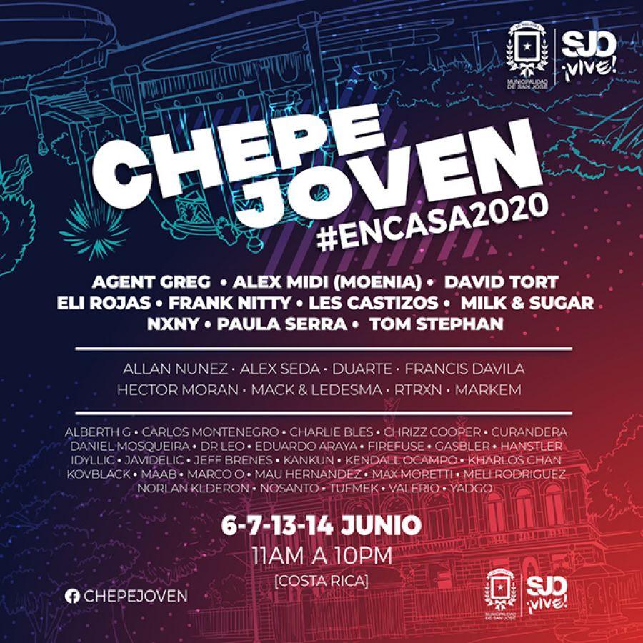 Chepe Joven #encasa2020. Día 1