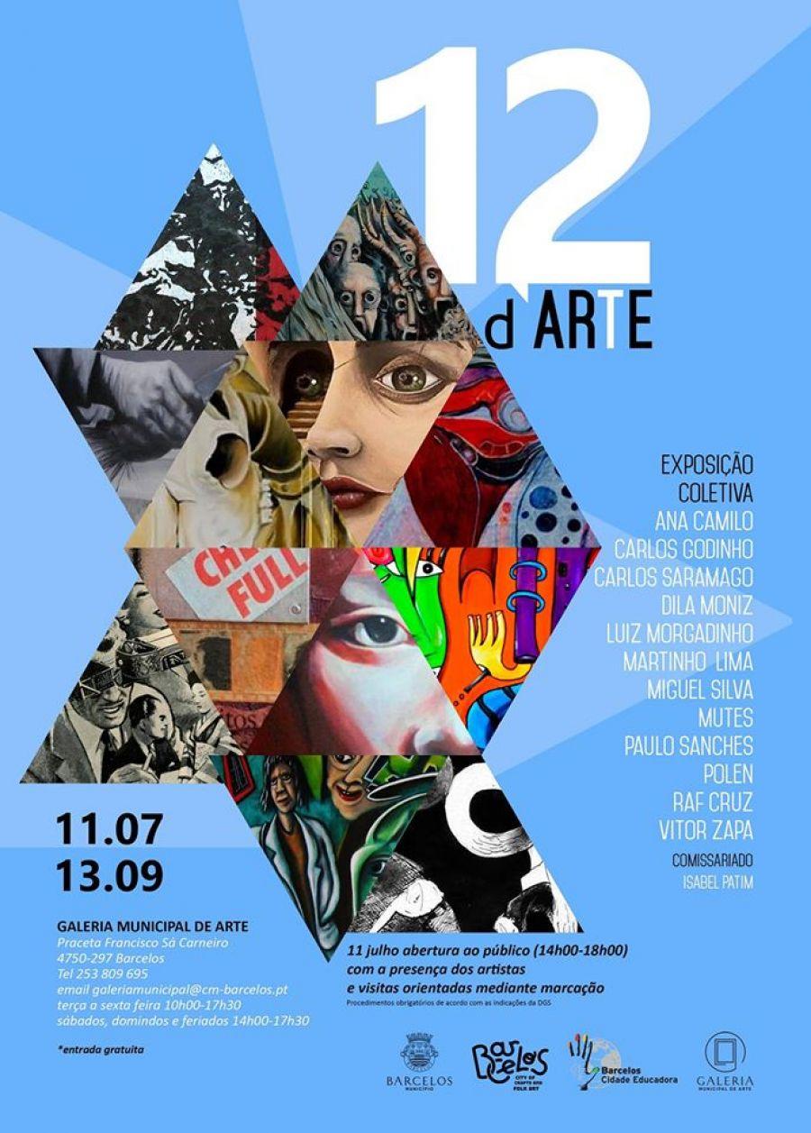 Coletivo 12 d`ARTE   Galeria Municipal de arte - Barcelos