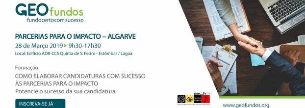 Como Elaborar Candidaturas com Sucesso às Parcerias Para o Impacto - Algarve