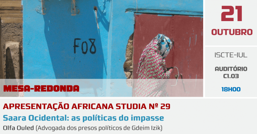 AFRICANA STUDIA 29: Saara Ocidental, as políticas dos impasse