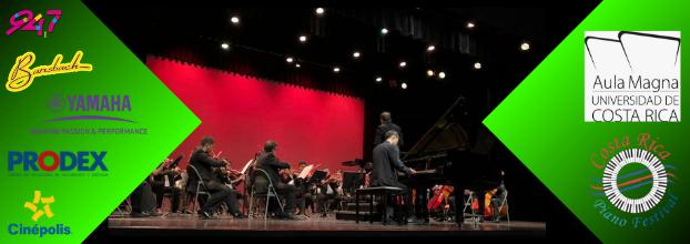 Costa Rica Piano Festival. Finalistas concurso internacional