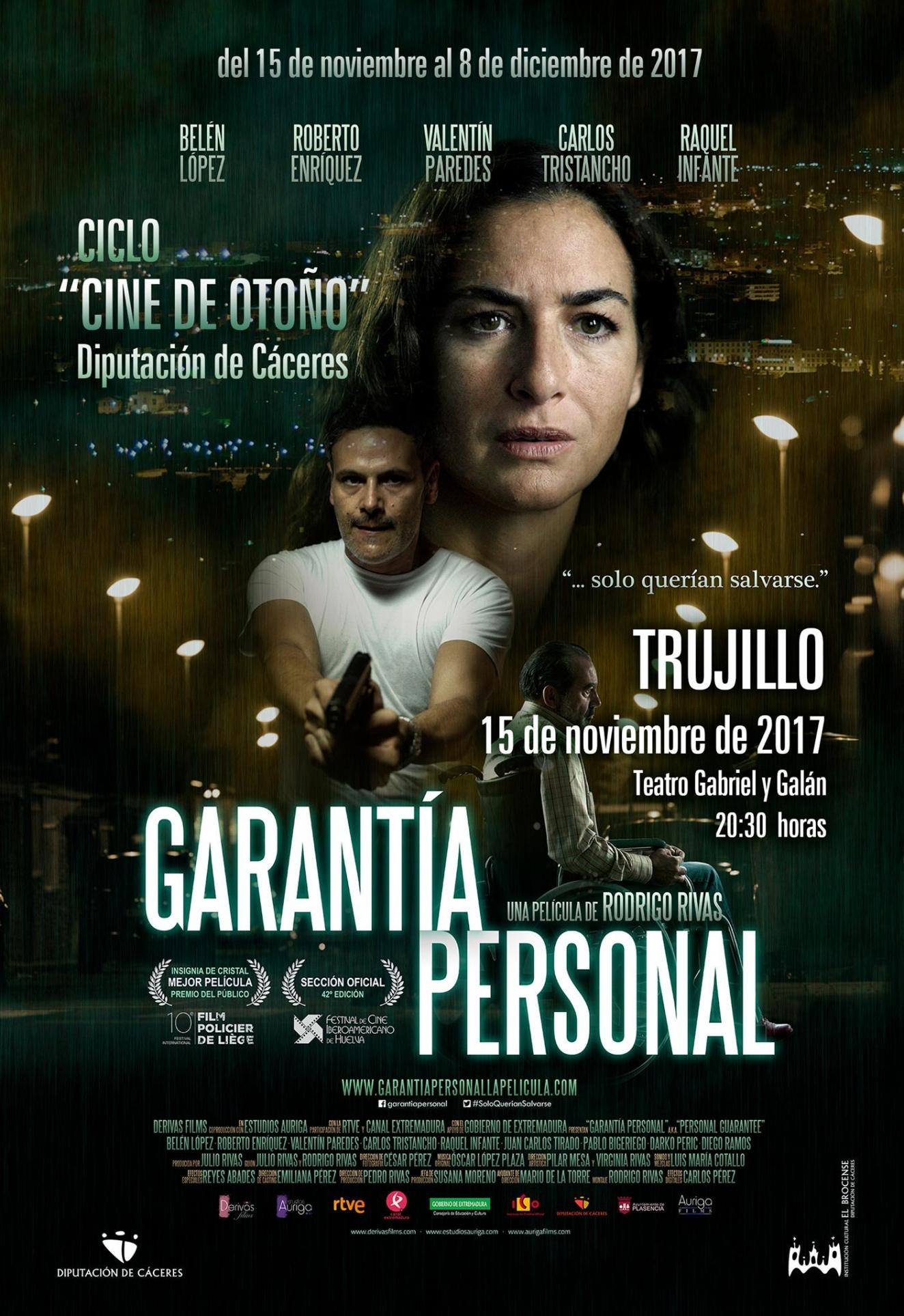 Proyección GARANTIA PERSONAL (Rodrigo Rivas, España)