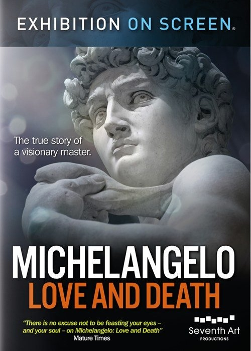 Exhibition on screen. Michelangelo. David Bickerstaff. Documental