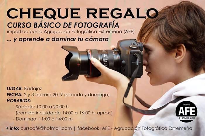 Curso básico de fotografía | Agrupación Fotográfica Extremeña