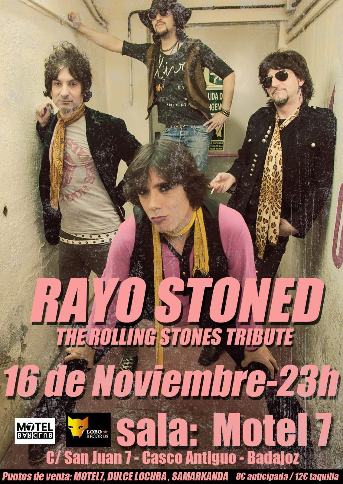 Rayo Stoned || The Rolling Stones tributo