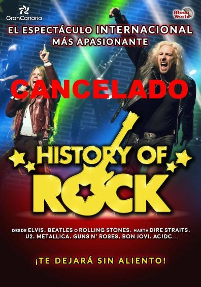 CANCELADO History of rock