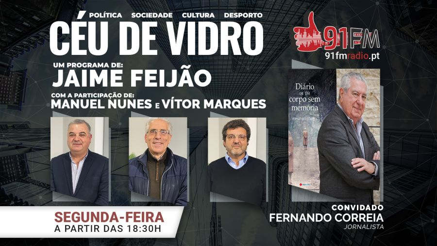 Céu de Vidro convida Fernando Correia