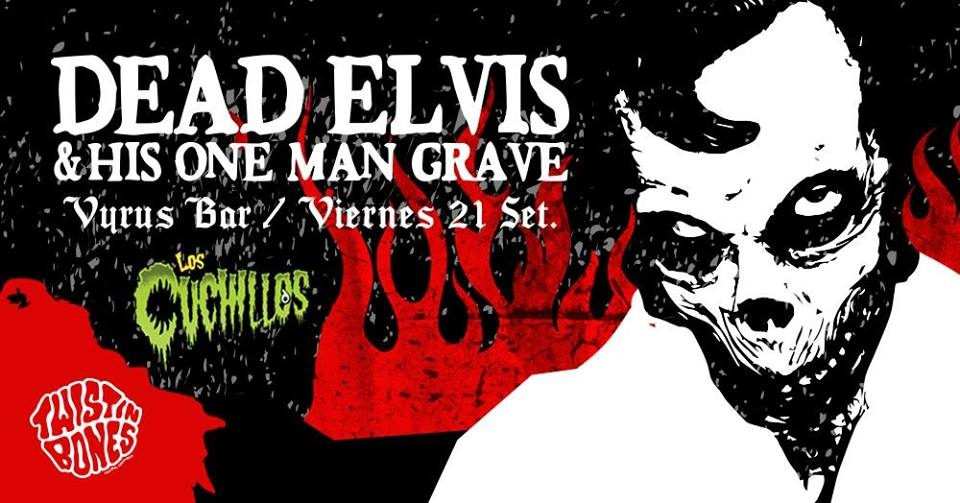 Concierto. Dead Elvis & His One Man Grave. Banda, surf rock