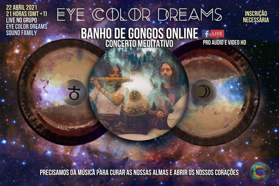 Banho de Gongos - Concerto Meditativo (Online)