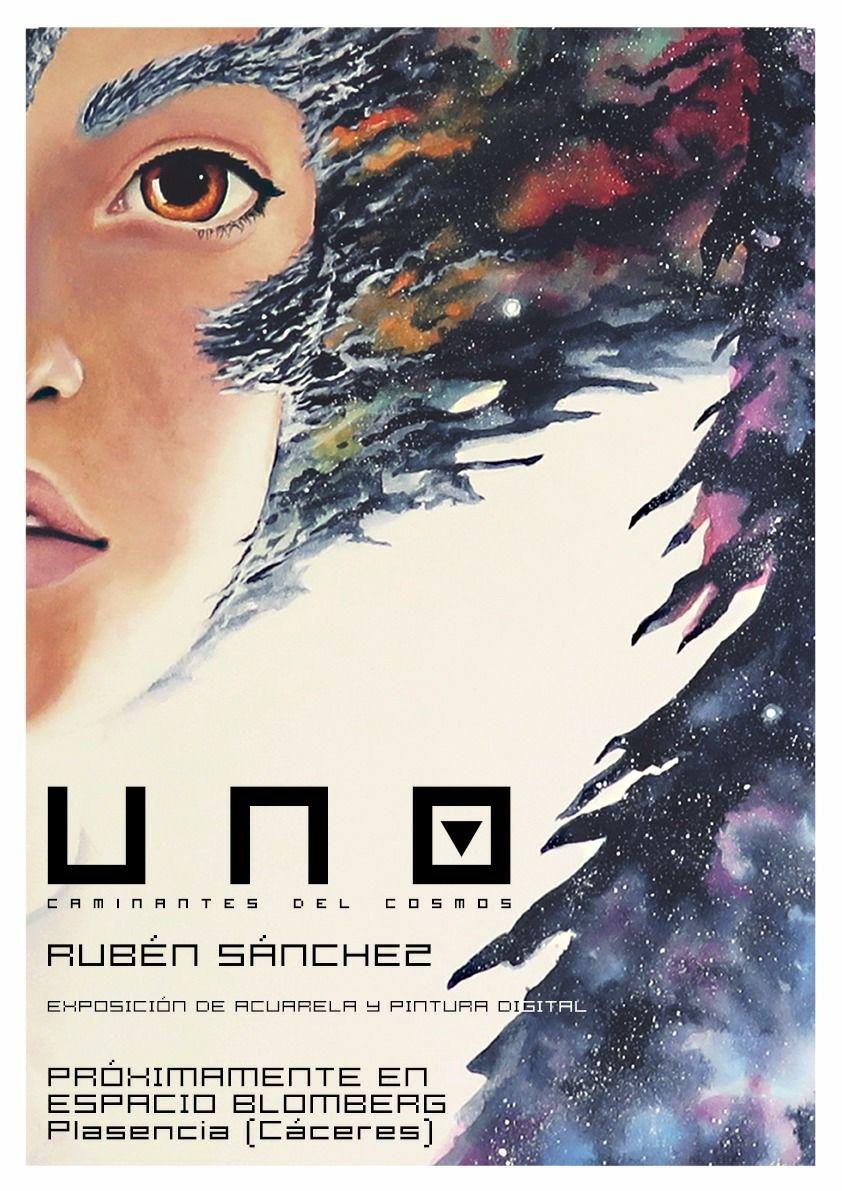 Exposición 'UNO. Caminantes del cosmos' de Rubén Sánchez.