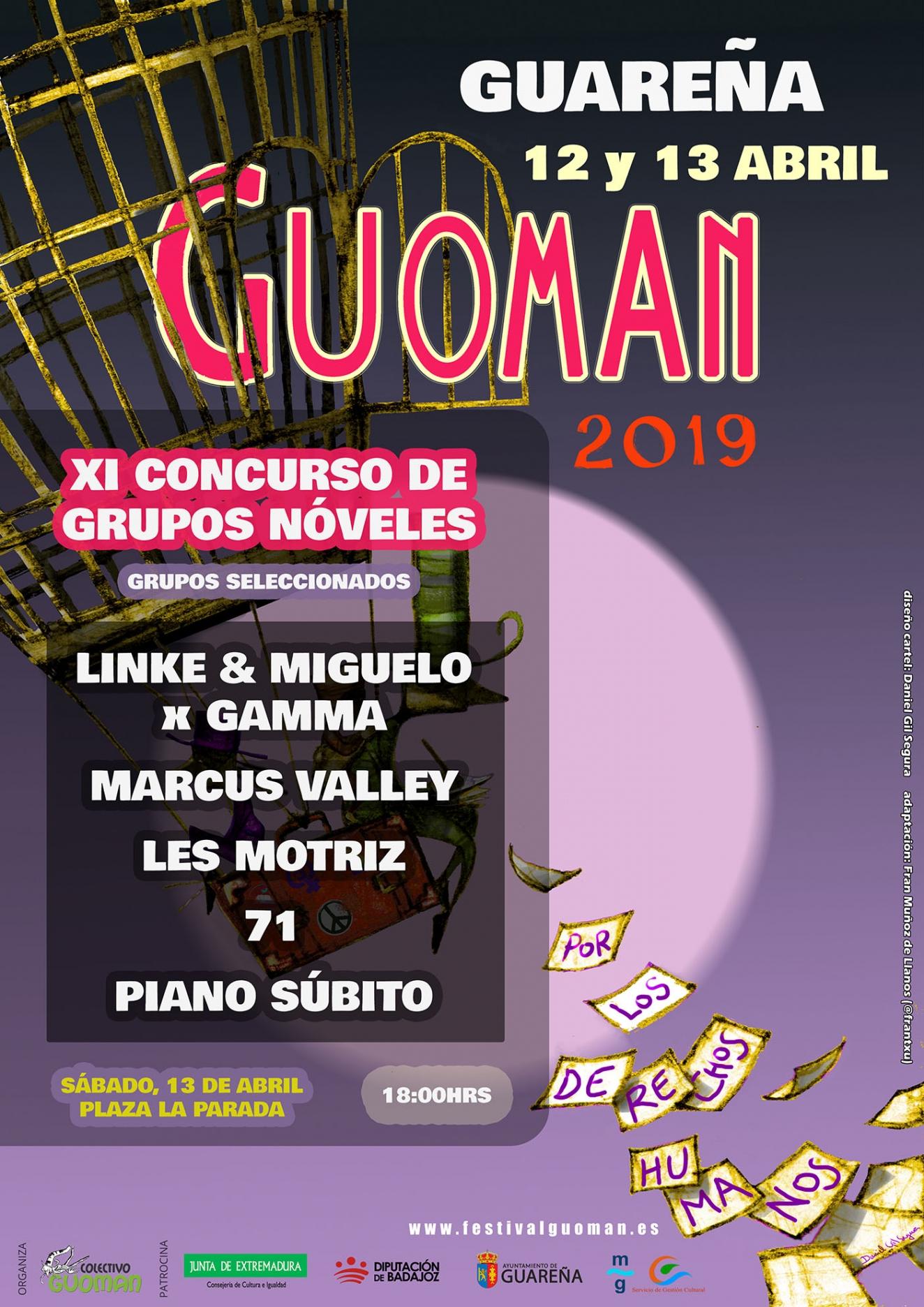 GUOMAN 2019  ||  XI concurso de grupos nóveles
