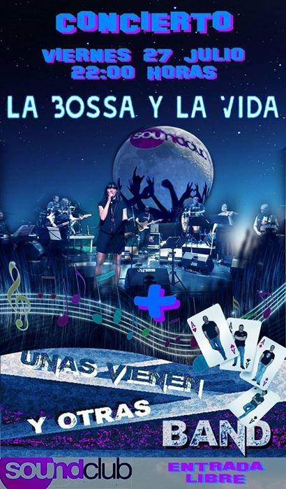 Concierto de LA BOSSA Y LA VIDA || Sound Club Navalmoral