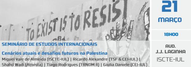 Mesa-redonda: Cenários atuais e desafios futuros na Palestina