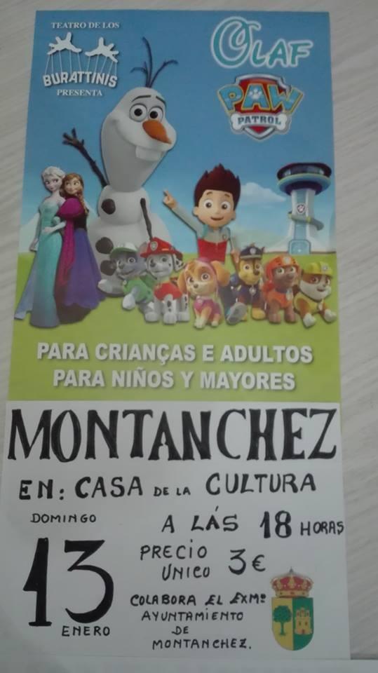 Teatro infantil en Montánchez