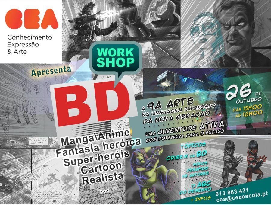 Workshop de Banda Desenhada