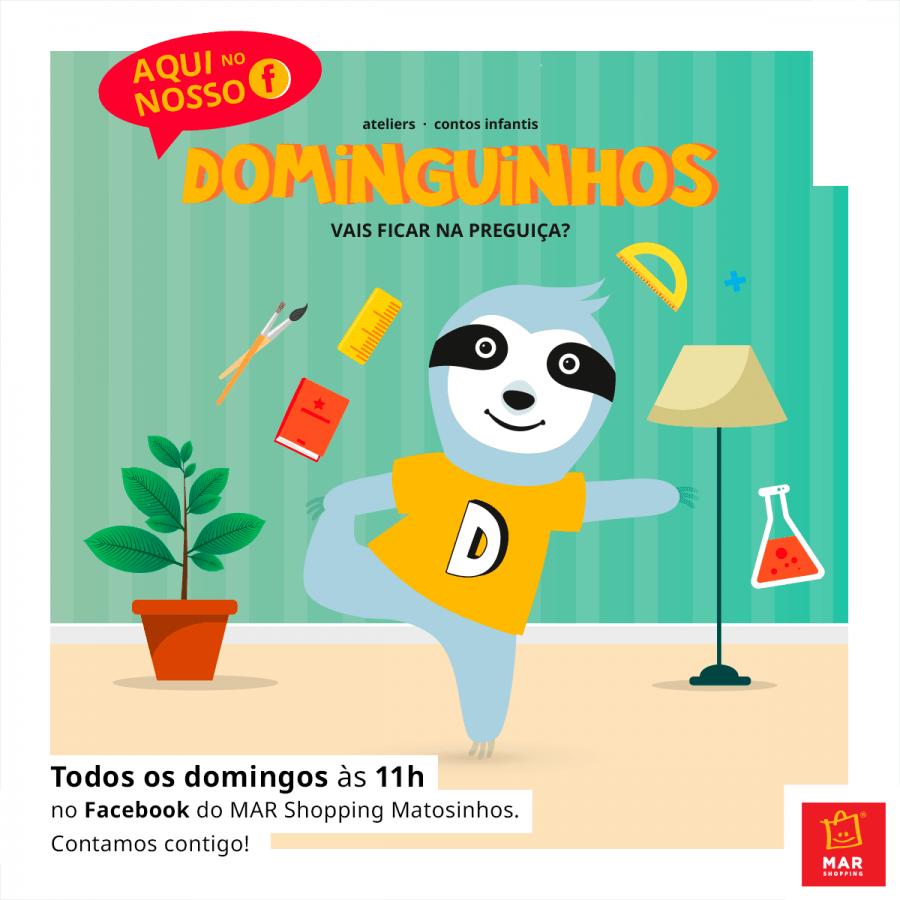 Dominguinhos online Matosinhos: Antes de comprar, pensa em reutilizar!