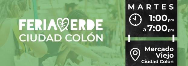 Feria verde. Ciudad Colón. Artesanías, gastronomía y más