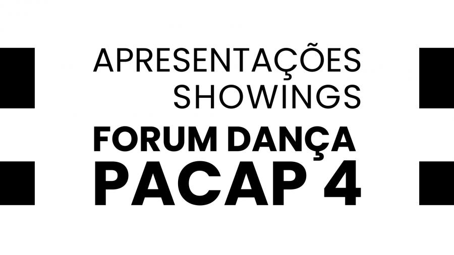 Ciclo de apresentações PACAP 4 - Ciclo #02