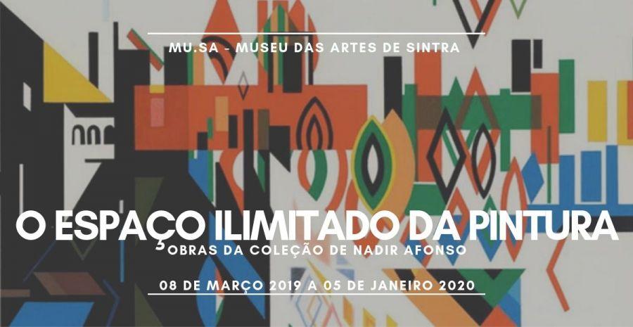 O Espaço Ilimitado da Pintura - Obras da Coleção Nadir Afonso